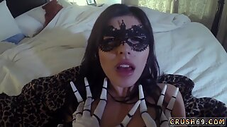 Mother in law seduces duddy  comrade s daughter first time Swalloween Fun