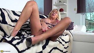 Mature super slut mom with huge tits