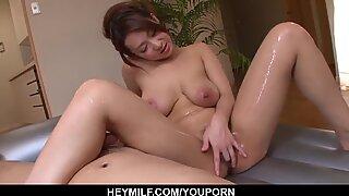 Busty Marin Koyanagi sucks the cock like - More at Japanesem