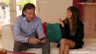 Janice Griffith Gets Fucked By Her Daddys Friend