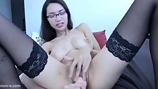 delightfulhug mfc 1st squirt on cam (monster dick and HUGE squirt)