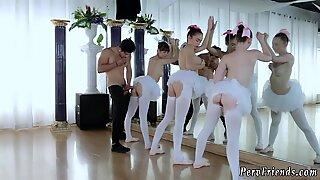 Skinny college xxx Ballerinas
