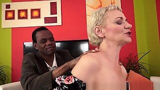 Cock Craving Granny Ir Banged After Massage
