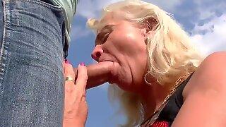 Grandma claims: Fuck my ass!