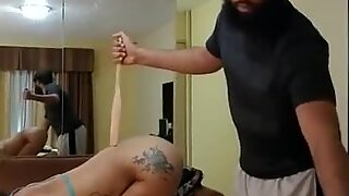 sexy girl getting fucked and flogged