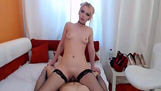 Blonde Babe Gets Roughly Fucked by Her Boyfriend